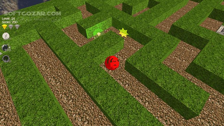 Maze 3D 1 9 1 for Android 2 3 تصاویر نرم افزار  - سافت گذر