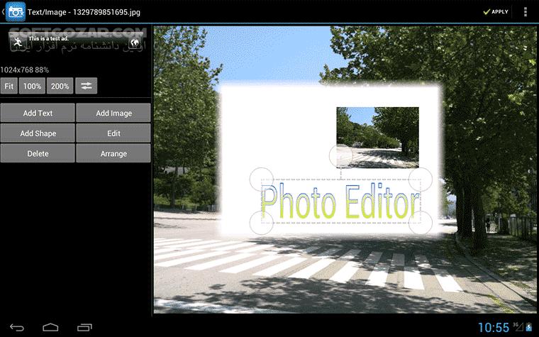 Photo Editor Pro 2 7 1 for Android 4 0 تصاویر نرم افزار  - سافت گذر