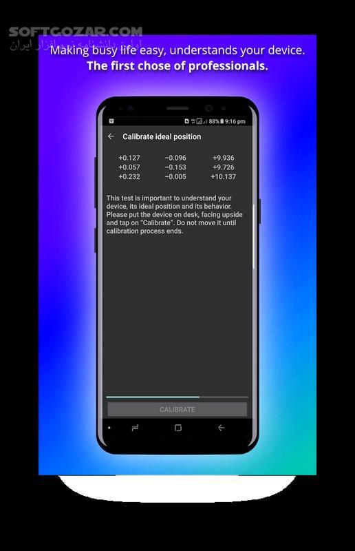 Screen Lock Pro 4 6 9 for Android 4 0 تصاویر نرم افزار  - سافت گذر