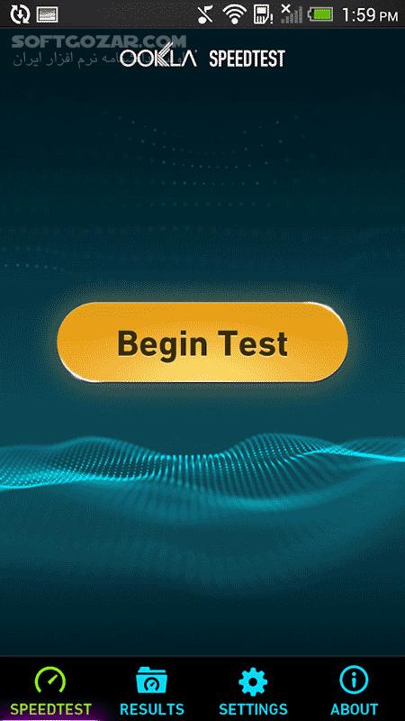 Speedtest net Premium 4 4 22 for Android 2 3 تصاویر نرم افزار  - سافت گذر