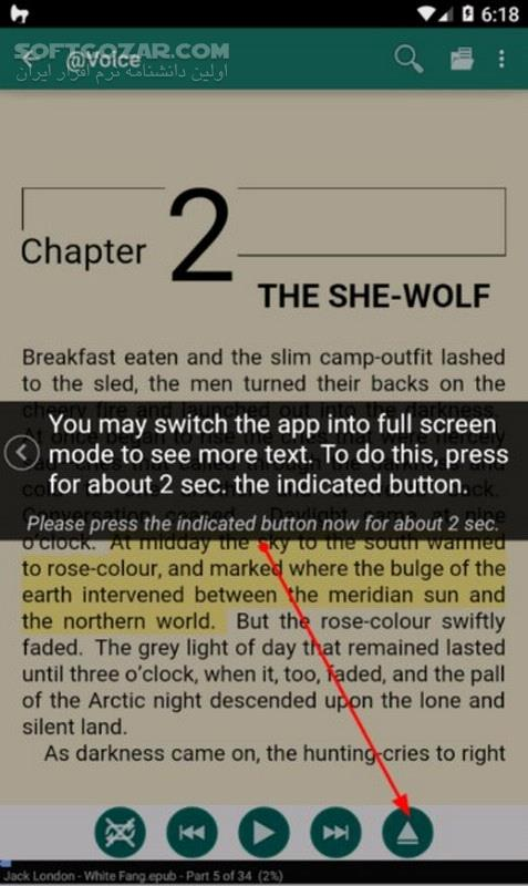 Voice Aloud Reader Premium 18 1 0 for Android 4 0 3 تصاویر نرم افزار  - سافت گذر