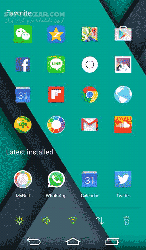 ZEN Launcher 1 5 9 Notification 1 9 for Android 4 1 تصاویر نرم افزار  - سافت گذر