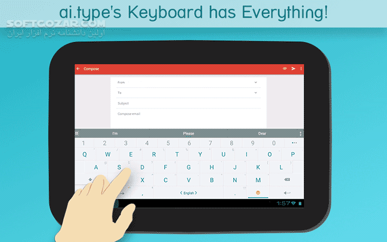 ai type Keyboard Plus Emoji 9 6 1 0 for Android 4 0 تصاویر نرم افزار  - سافت گذر