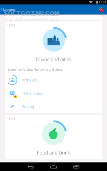busuu Premium 17 11 0 301 for Android 4 1 تصاویر نرم افزار  - سافت گذر