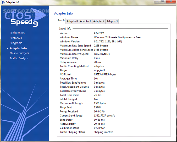 cFosSpeed 10 22 Build 2290