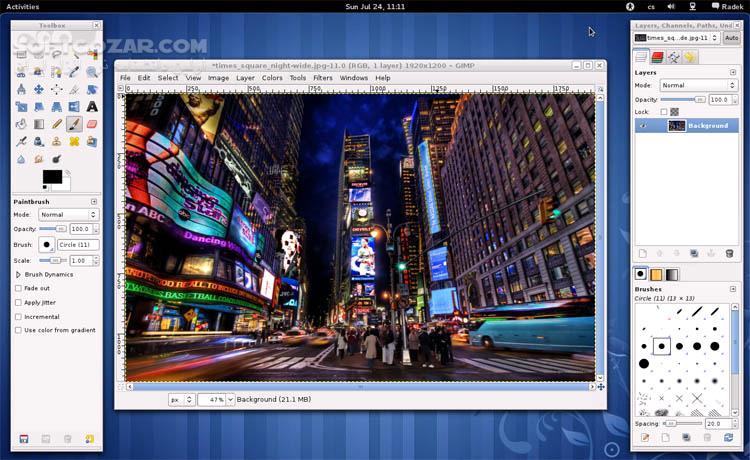 GIMP 2 10 10 Portable تصاویر نرم افزار  - سافت گذر