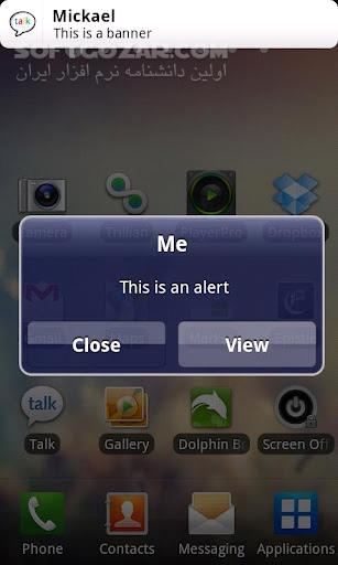 iPhone Notifications 6 1 for Android تصاویر نرم افزار  - سافت گذر
