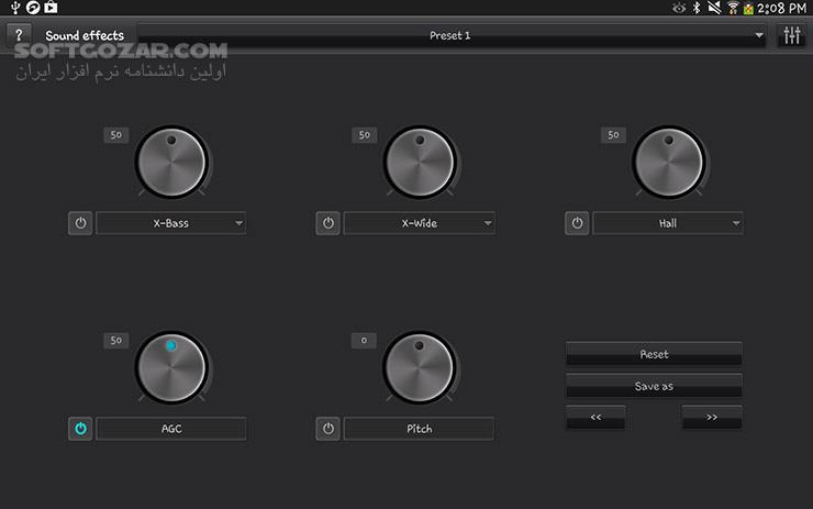 jetAudio Music Player Plus 9 10 0 for Android 2 3 3 تصاویر نرم افزار  - سافت گذر