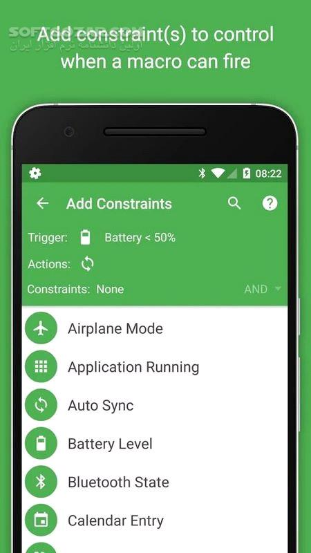 MacroDroid – Device Automation Pro 4 9 2 for Android 4 2 تصاویر نرم افزار  - سافت گذر