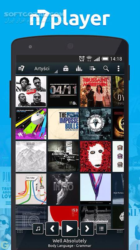n7player Music Player Premium 3 1 2 for Android 4 1 تصاویر نرم افزار  - سافت گذر