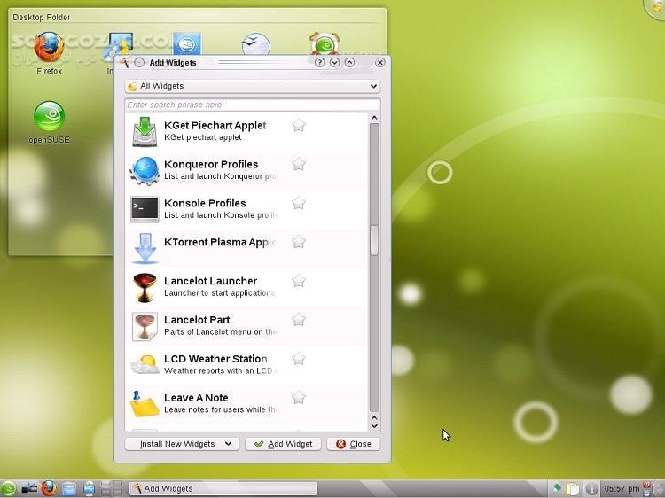 openSUSE Leap 15 2 42 3 x64 تصاویر نرم افزار  - سافت گذر
