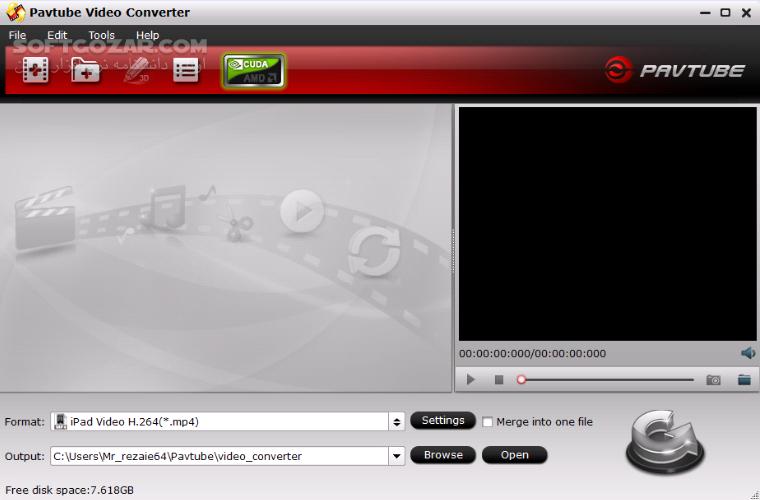Pavtube Video Converter Ultimate 4 9 3 0 HD 4 9 0 0 تصاویر نرم افزار  - سافت گذر
