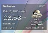 دانلود Android Weather & Clock Widget 6.2.6.14 for Android