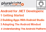 دانلود Pluralsight - Android for .NET Developers - 1 Getting Started / 2 Building Apps With Android / 3 Adopting The Android Mindset / 4 Understanding The Android Platform