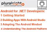 دانلود Pluralsight - Android for .NET Developers - 1 Getting Started / 2 Building Apps With Android / 3 Adopting The Android Mindset / 4 Understanding The Android Platform