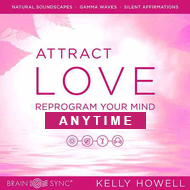 دانلود Attract Love: Brain Wave Subliminal by Kelly Howell