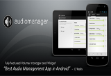 دانلود AudioManager Pro 4.1.3 for Android +2.2