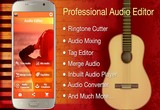 دانلود Audio MP3 Cutter Mix Converter and Make Ringtones 1.80 Pro For Android +4.0