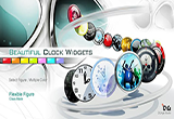 دانلود Beautiful Clock Widgets Pro 5.7.8 for Android