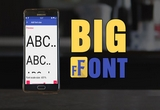دانلود Big Font Pro 3.18 for Android +4.1