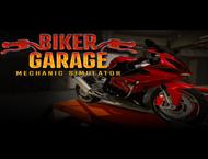 دانلود Biker Garage Mechanic Simulator Junkyard + Updates