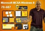 دانلود CBT Nuggets - Microsoft MCSA Windows 8 70-687