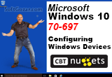 دانلود CBT Nuggets - Microsoft Windows 10 70-697 Configuring Windows Devices