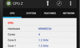 دانلود CPU-Z 2.8.1 / CPU-X 1.89 for Android +2.2