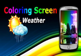 دانلود Coloring Weather Screen 1.1 for Android