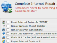 دانلود Complete Internet Repair 3.1.3 Build 2852  + Portable