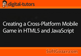 دانلود Digital Tutors - Creating a Cross-Platform Mobile Game in HTML5 and JavaScript