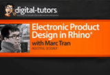 دانلود Digital Tutors - Electronic Product Design in Rhino