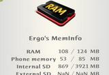 دانلود Ergos Memory Info 2.4 for Symbian