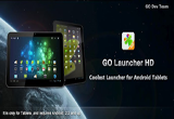 دانلود GO Launcher HD 1.19 for Android +2.2