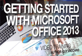 دانلود InfiniteSkills – Getting Started With Microsoft Office 2013 Training Video