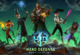 دانلود Hero Defense - Haunted Island