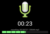 دانلود Hi-Q MP3 Voice Recorder Pro 2.4 b4 for Android +4.0