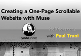 دانلود Lynda - Creating a One-Page Scrollable Website with Muse