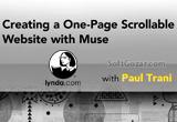 دانلود Lynda - Creating a One-Page Scrollable Website with Muse