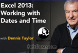 دانلود Lynda - Excel 2013 Working with Dates and Times