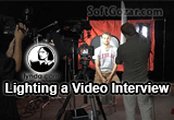 دانلود Lynda - Lighting a Video Interview
