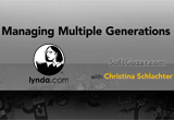 دانلود Lynda - Managing Multiple Generations