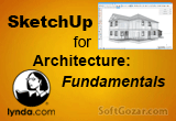 دانلود Lynda – SketchUp for Architecture - Fundamentals