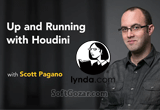 دانلود Lynda - Up and Running with Houdini