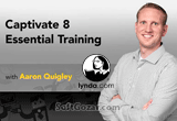 دانلود Lynda - Captivate 8 Essential Training