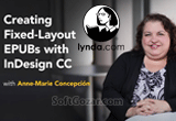 دانلود Lynda - Creating Fixed-Layout EPUBs with InDesign CC