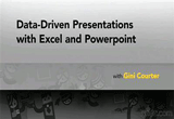 دانلود Lynda - Data-Driven Presentations with Excel and PowerPoint