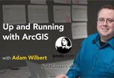 دانلود Lynda - Up and Running with ArcGIS