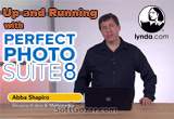 دانلود Lynda - Up and Running with Perfect Photo Suite 8