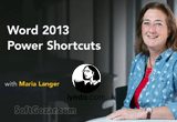 دانلود Lynda - Word 2013 Power Shortcuts